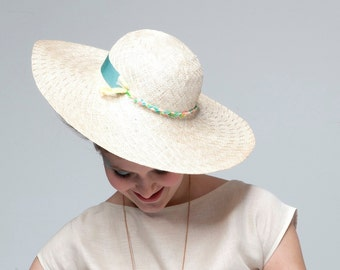 SALE Chanteuse Woven Straw Hat