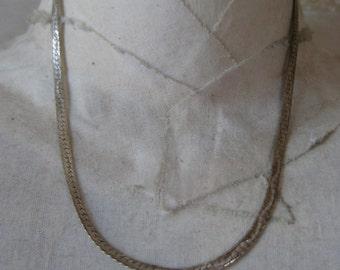 Sterling Silver Necklace Vintage 925
