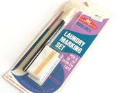 Vintage Laundry Pen and Iron On Tape
