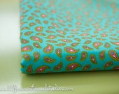Cute Little Paisley - New Old Stock Vintage Fabric Mod Nice Bright Colors (Reserved)