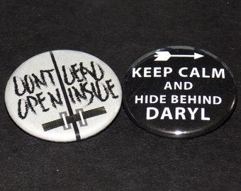 Walking Dead Pin Set