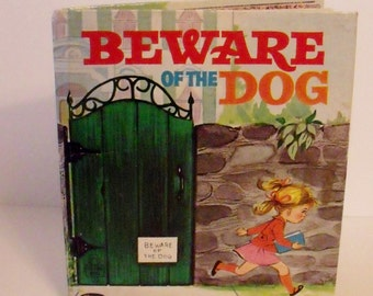 Beware of the Dog - 1968 - Tell A Tale book - Christina Woyke