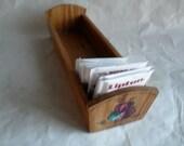 Oak HandMade Wooden Rectangle Box Hand Painted
