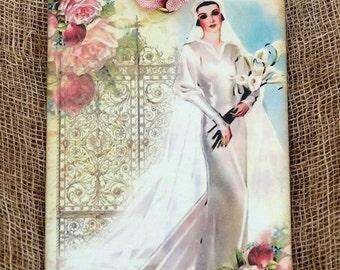 Vintage Bride Wedding Tags #468