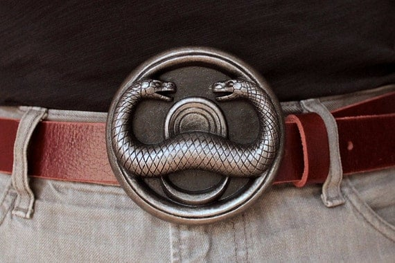 THULSA DOOM snake belt buckle 2