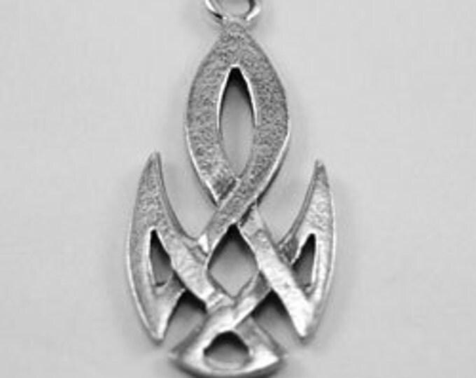 x2 Small celtic knot  1 bail Australian Petwer (R98)