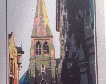 Ireland Photo Art Notecard