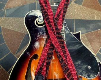 SUMMER SALE  Robin Inspired  Mandolin Strap