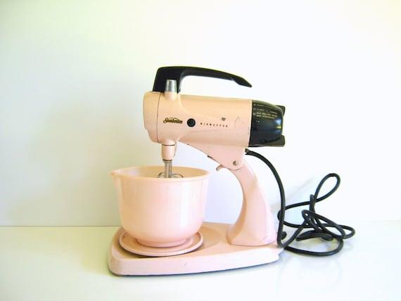 Vintage Pink Sunbeam Mixmaster Stand Mixer 1950 Retro Kitchen