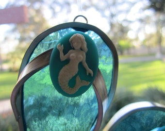 Mermaid Flipflop Suncatcher