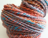 SUNSET SORBET - handspun boutique yarn