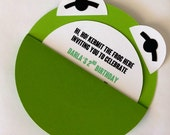 Kermit the Frog Invitations- Set of 25
