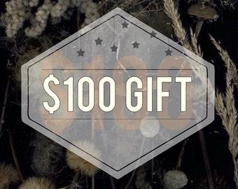 Dear Golden Gift Certificate 100