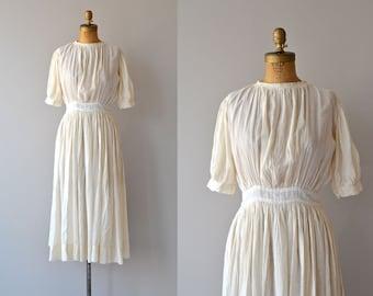Tzigane dress | vintage 1910s dress • cotton gauze Edwardian dress