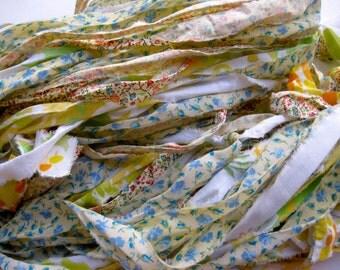 handmade ribbon yarn, Cecily