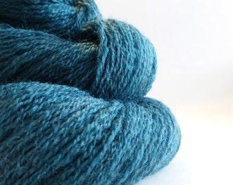 Lagoon - Lace Weight Yarn - Merino Wool Recycled Yarn - Lot 60814