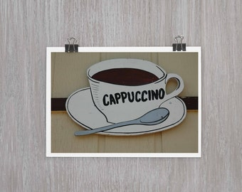 Cappuccino - 4x6 photograph