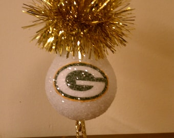 Green Bay keepsake light bulb ornament