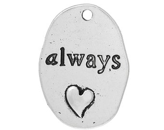 Always - set of 5 charms - #HK1012