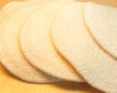 Small Eye makeup removal pads -  7 pack. Re-usable Organic Cotton