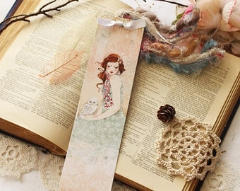 Bookmark - Mademoiselle Snow