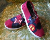 Minnie and Mickey Mouse YOUTH TOMS