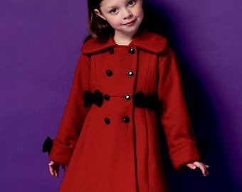 Girls pea coat | Etsy