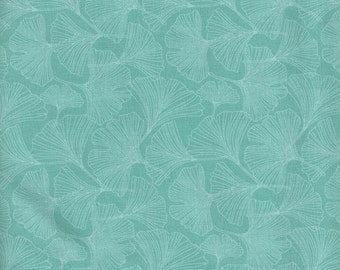 Aqua Ginkgo leaf papillon collection