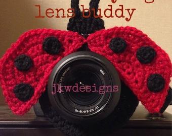 PATTERN ONLY Little Ladybug Lens Buddy Pattern