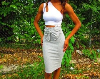 Bow Highwaist Skirt