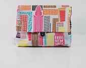 Makeup pouch - NY city - contemori