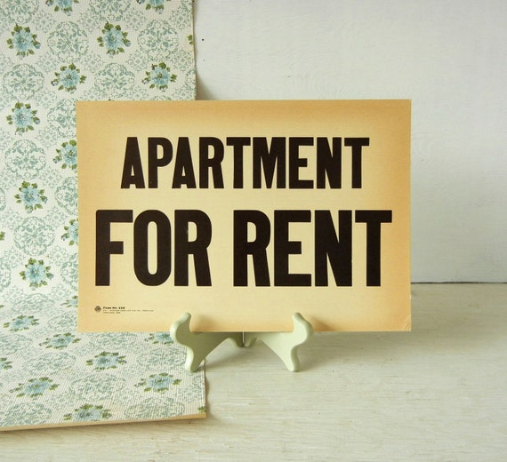 Apartment For Rent Sign: Il_570xN.526717060_r743.jpg