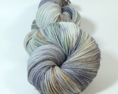 Yarn of Letters - Jest Sparkle 2ply Merino/Nylon/Stellina Sock - Touched by an Emo Angel