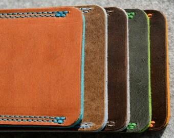 Galaxy S8, Galaxy S8+ Leather Sleeve - MULTIPLE CHOICE, Organic Leather