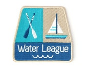 Water League Iron On Patch