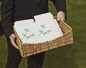 Wedding Program Template - Love Birds