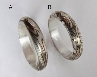 Mokume Gane Ring size 10