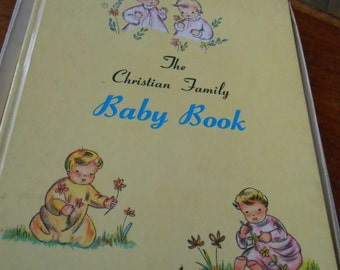 Vintage Christian Baby Book