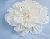 Large Silk Peony, Wedding Hair Accessory, Bridal Hair Comb, Flower, Japan Tsumami Kanzashi Comb