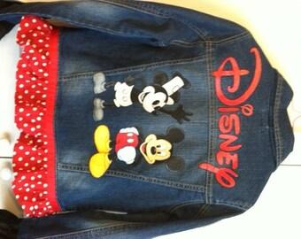 Custom Painted Disney Mickey Mouse Goofy Pluto Shirt By