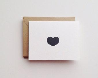 Little Heart Note Card Set
