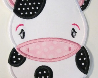 Iron On Applique - Baby Cow