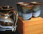 Cosmic Blue Juice cups Mark Heywood
