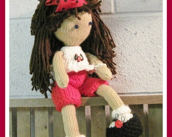 Lily Ann Doll and Clothes Amigurumi  Pattern Knitted