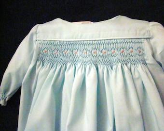 Infant (Preemie) Smocked Daygown