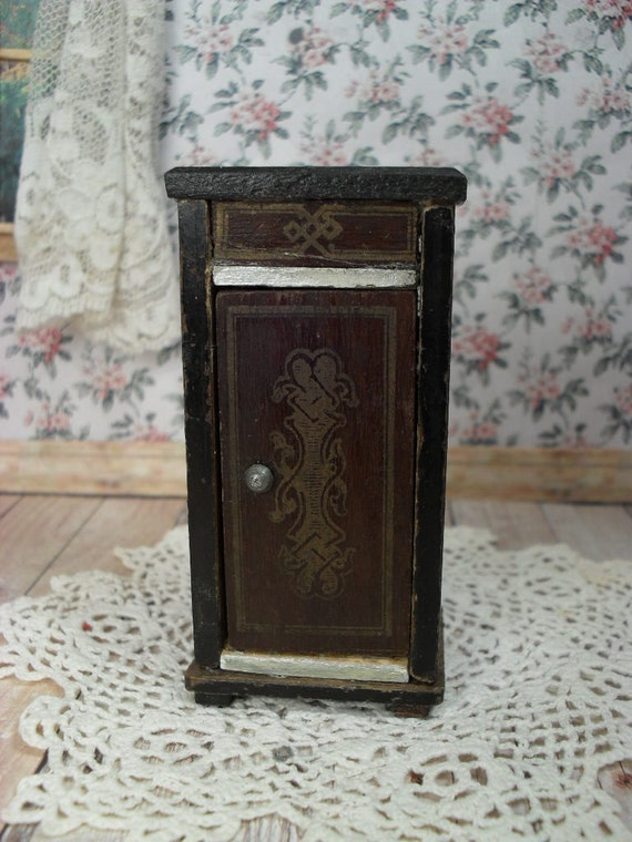 antique german biedermeier dollhouse furniture small by