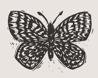 Butterfly Art Print & Envelope