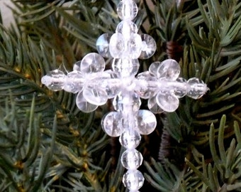 Ornaments - Beaded Cross