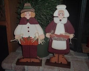 Henry and Henrietta Pilgrim Set