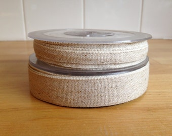 Natural Cotton/Hemp Ribbon - 3 metre length